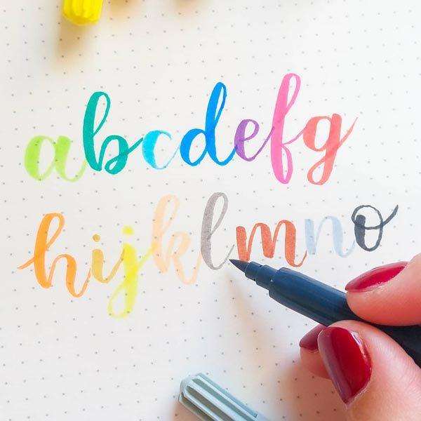 Kalligráfia workshop és letölthető munkafüzet - Brisign by Bubán Brigitta